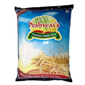 Picture of PESHWAI'S  Chakki Wheat Flour (Atta)