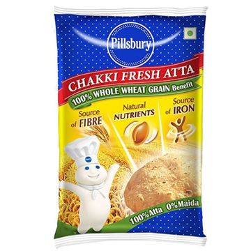 Picture of Pillsbury Chakki Wheat Flour (Atta)