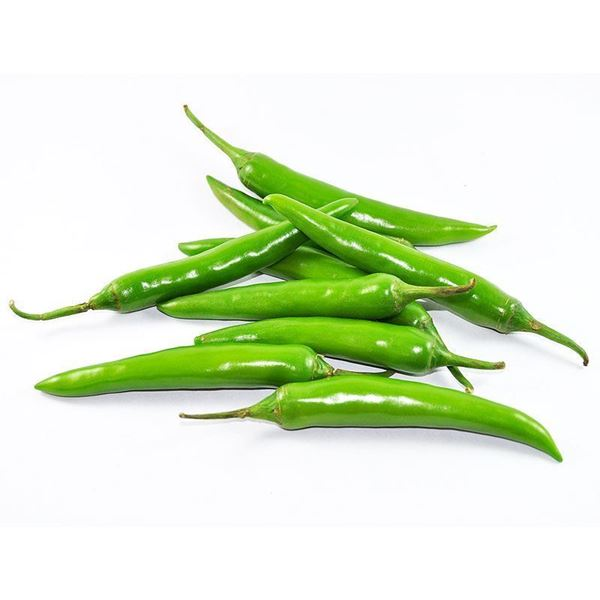 Picture of Fresh Big Green Chillies (India)