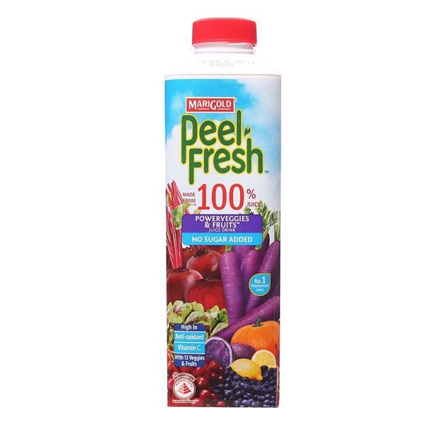 Picture of Marigold Peel Fresh No Sugar Added Juice    Powerveggies & Mixed Fruits