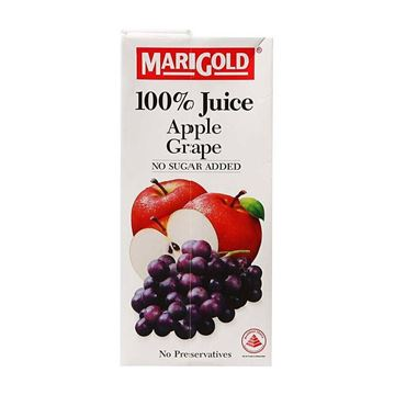 Picture of Marigold 100% Juice    Apple Grape no sugar ADDED