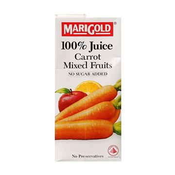 Picture of Marigold 100% Carrot & Mixed Fruit Juice No Sugar