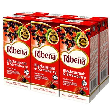 Picture of Ribena Blackcurrant And Strawberry Fruit Drink