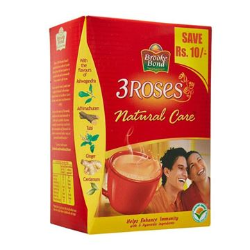 Picture of Brooke Bond 3 Roses Natural Care Tea