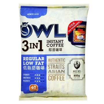 Picture of Owl 3 In1 Coffee Regular Low Fat