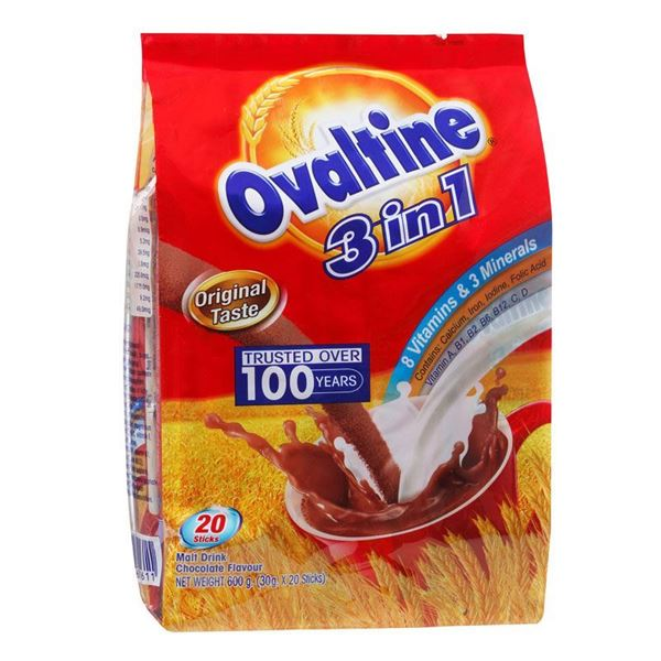 Picture of Ovaltine 3 In 1 Malt Drink