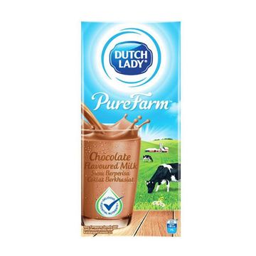 Picture of Dutch Lady UHT  Milk    Chocolate