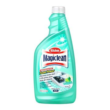 Picture of Magiclean Kitchen Cleaner Foam Power Lime