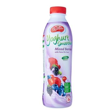 Picture of F&N Magnolia Yoghurt Smoothie Mixed Berries With Nata De Coco Bits