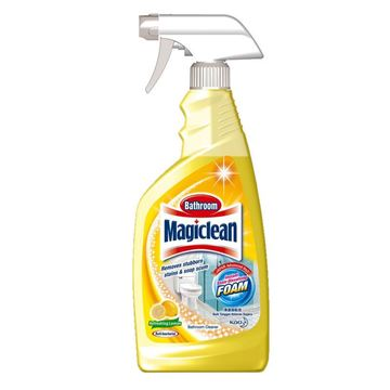 Picture of Magiclean Lemon Scent Bathroom Cleaner Trigger