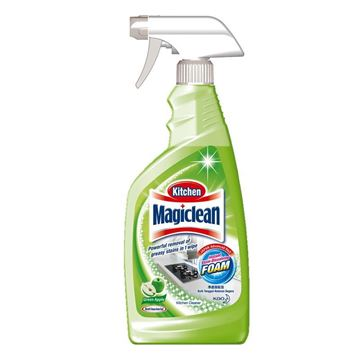Picture of Magiclean Kitchen Cleaner Green Apple Scent Trigger