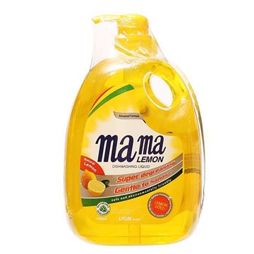 Picture of Mama Dishwashing Liquid    Lemon Twin Pack