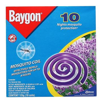 Picture of Baygon Mosquito Coil  Lavender