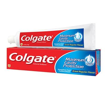 Picture of Colgate Maximum Cavity Protection Fresh Cool Mint Toothpaste
