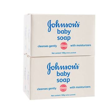 Picture of Johnson's Baby Soap - White