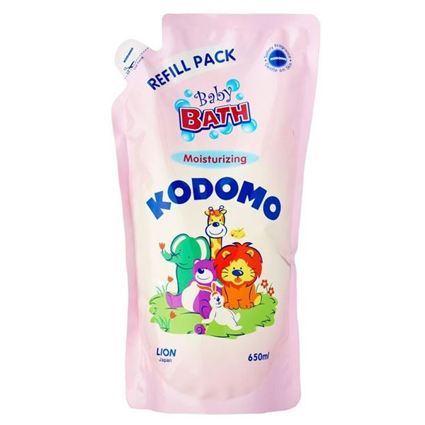 Picture of Kodomo Baby Bath Moisturizing Wash Refill Pack