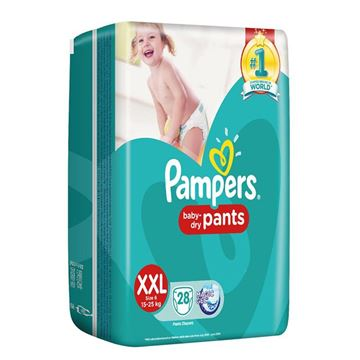 Picture of Pampers Baby Dry Pant Diapers XXL