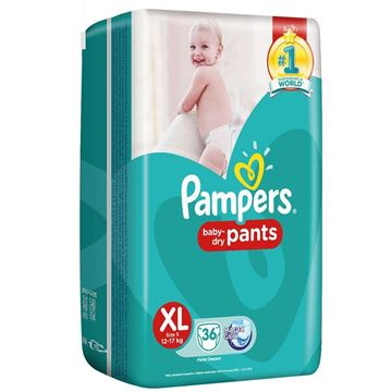 Picture of Pampers Baby Dry Pant Diapers XL