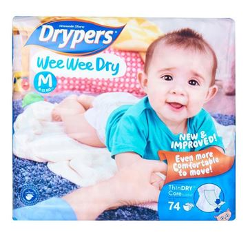 Picture of Drypers Wee Wee Dry Diapers M