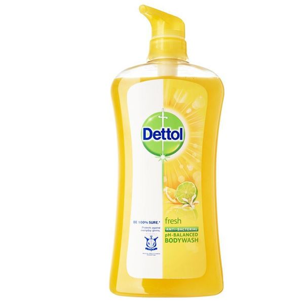Picture of Dettol Anti-Bacterial Shower Gel Fresh