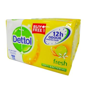 Picture of Dettol Bar Soap Fresh Scent