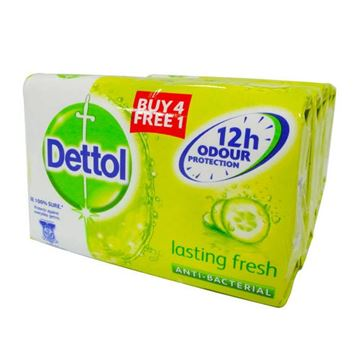 Picture of Dettol Bar Soap    Lasting Fresh