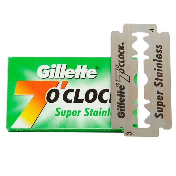Picture of Gillette 7 O Clock Super Stainless Razor Blades