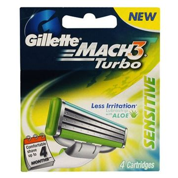 Picture of Gillette Mach3 Sensitive Cartridges