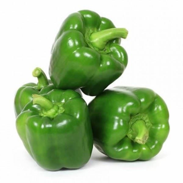 Picture of Fresh Green Capsicum (Bell Peppers)