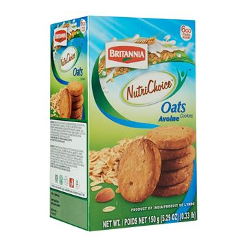 Picture of Britannia NUTRICHOICE Oat Meal  Cookies