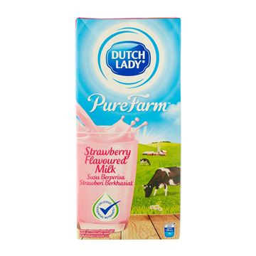Picture of Dutch Lady UHT  Milk    Strawberry