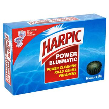 Picture of Harpic Power Bluematic Blocks Toilet Bowl Cleaner