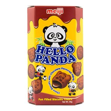 Picture of Hello Panda COCOA Biscuits With Chocolate Flavoured Filling