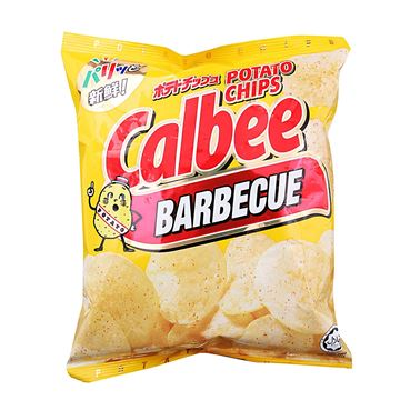 Picture of Calbee Potato Chips  Barbecue