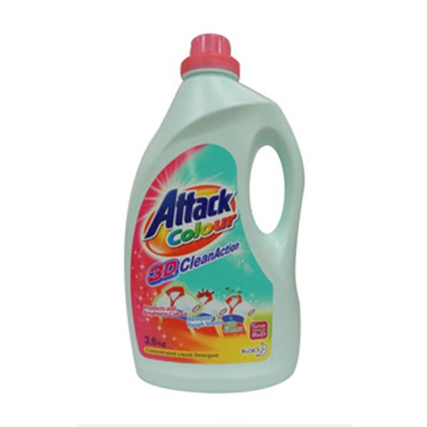 Picture of Attack Colour Concentrated Liquid Detergent