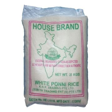 Picture of House Brand White Ponni Rice