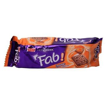 Picture of PARLE Hide & Seek Fab Orange Flavour Biscuits