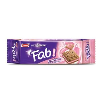 Picture of PARLE Hide & Seek Fab Strawberry Biscuits