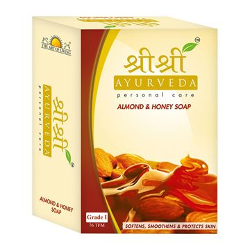 Picture of Sri Sri Ayurveda Almond And Honey Soap