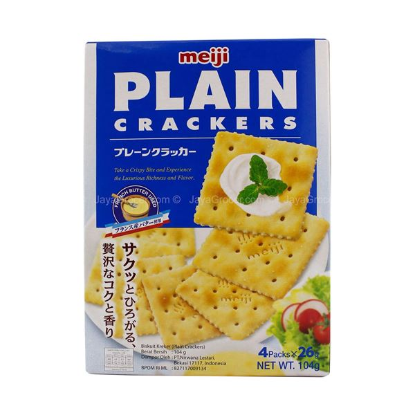 Picture of Meiji Plain Crackers