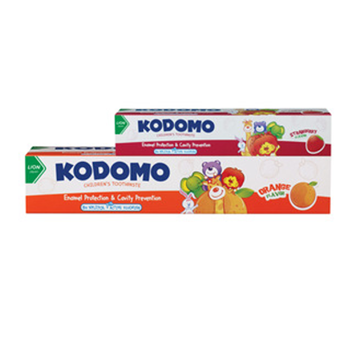 Picture of Kodomo Child Toothpaste Orange + Free Strawberry