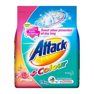 Picture of Attack Anti Bacterial Ultra Power Powder Detergent Plus Colour