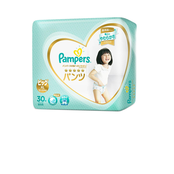 Picture of Pampers Premium Care Pant Diapers - XL (12-22 Kg)