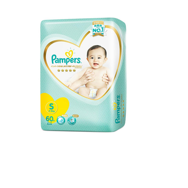 Picture of Pampers Premium Care Tape Diapers    S (4  8 Kg)
