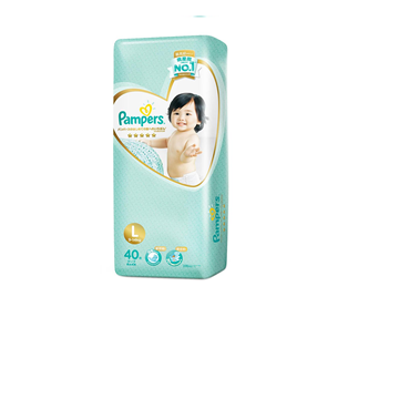 Picture of Pampers Premium Care Tape Diapers - L (9-14 kg)