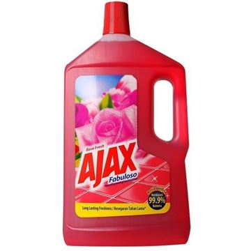 Picture of Ajax Fabuloso Floor Cleaner Rose Fresh