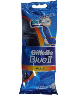 Picture of Gillette Blue II Chromium Coating Razor