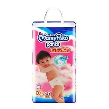 Picture of MamyPoko Extra Soft Girls Pant Diapers    XXL (15  25 Kg)