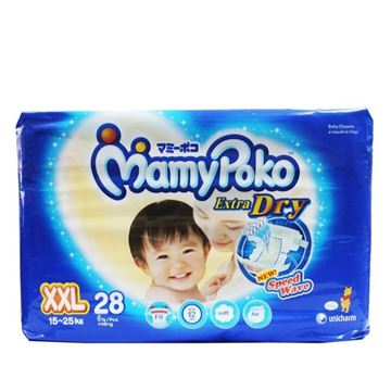 Picture of MamyPoko Extra Dry Diapers Tape XXL