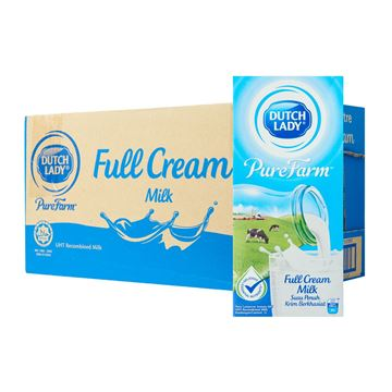 Picture of Dutch Lady Full Cream UHT Milk